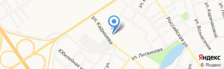 КрасГАУ на карте Абакана