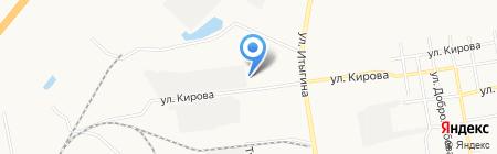 Магазин автозапчастей МАЗ на ул. Кирова на карте Абакана