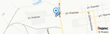 Автомойка на ул. Кирова на карте Абакана