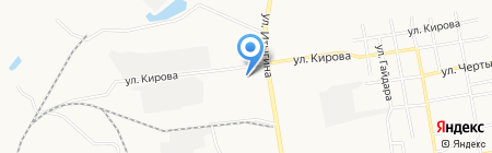 Опт-Ком на карте Абакана