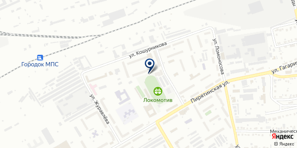 Участковый пункт полиции №6 на карте Абакане