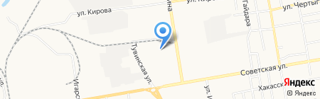 АРКОМЭЛЕКТРО на карте Абакана