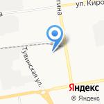 Енисейпром-Абакан на карте Абакана