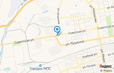 Местоположение на карте пункта техосмотра по адресу г Абакан, ул Тувинская, д 2