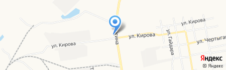 Оптово-розничный магазин напитков на карте Абакана