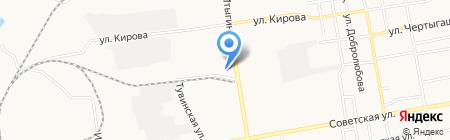 Спецодежда Абакан на карте Абакана
