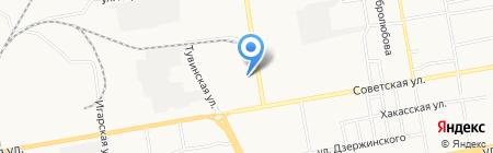 БазАвтозвука на карте Абакана