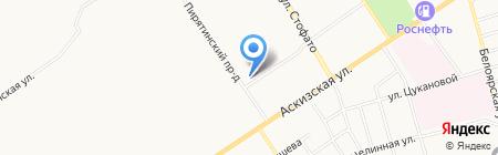 Абаканмежрайгаз на карте Абакана