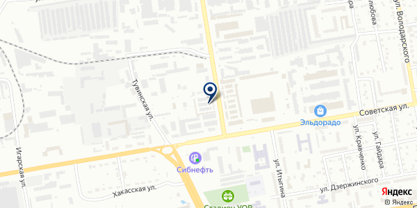 БазАвтозвука на карте Абакане