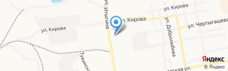 Оптово-розничный магазин продуктов на карте Абакана