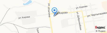 Магазин зоотоваров на карте Абакана