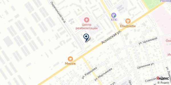 Модные штучки на карте Абакане