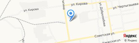 Пивная компания на карте Абакана
