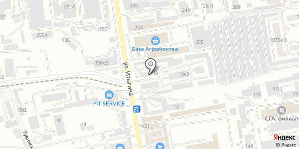 Диёра. Схема проезда в Абакане