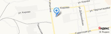 Оптово-розничная база на карте Абакана