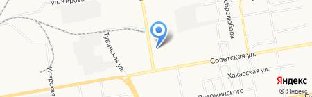 Santek на карте Абакана