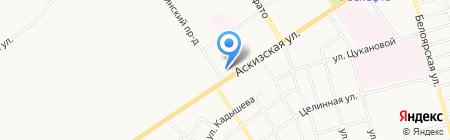 Маленькая страна на карте Абакана