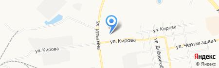ЗИЛ УАЗ ГАЗ ПАЗ на карте Абакана