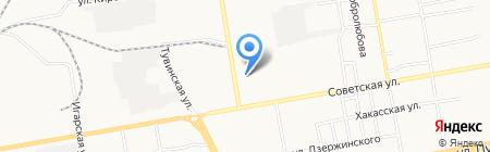 Чародейка на карте Абакана