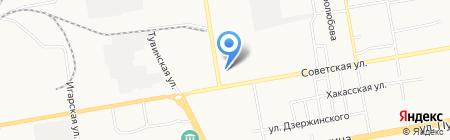 Шторы для вас на карте Абакана