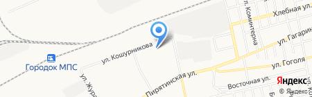 Почтовое отделение №11 на карте Абакана