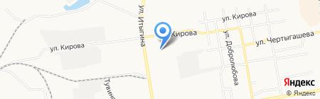 Оптовый склад на карте Абакана