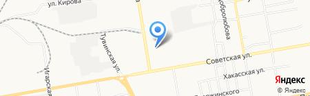 АКВА-ТЕРМ на карте Абакана