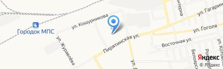 Абаканский учебный центр КРАСНЖД на карте Абакана