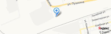 Сиб-Трэвел на карте Абакана