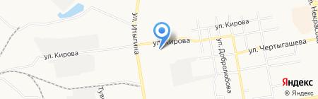 Дизайн-студия Ирины Кроминой на карте Абакана