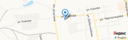 Сибсоль на карте Абакана