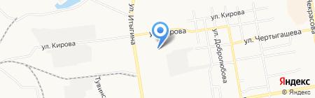 Оптовый магазин продуктов на карте Абакана