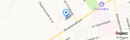 Дюймовочка на карте Абакана