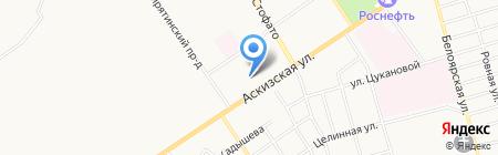 АЯС на карте Абакана