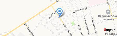 У ЛЭП на карте Абакана