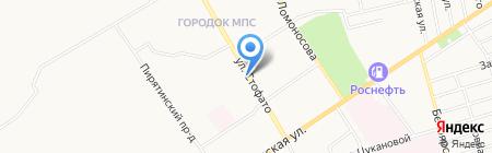 DENER на карте Абакана