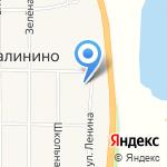 Администрация Калининского сельсовета на карте Абакана