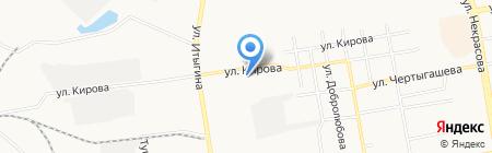Мой до дыр на карте Абакана