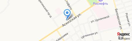 Надёжность на карте Абакана