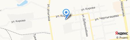 Каталина на карте Абакана