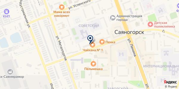 Рустехникс на карте Саяногорске