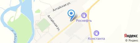 АЗС на ул. Ленина на карте Белого Яра