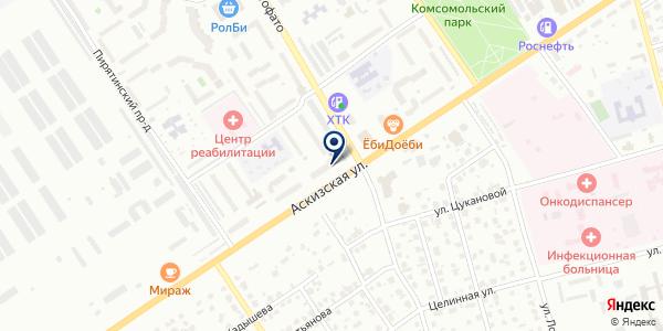Пельменная на карте Абакане