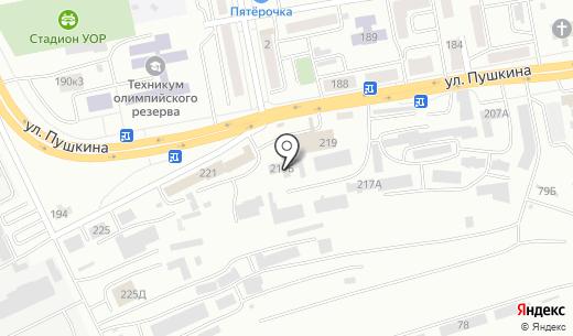 Приправыч. Схема проезда в Абакане