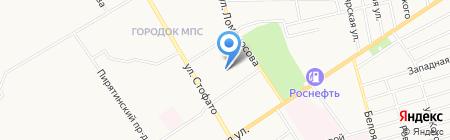 Народная баня на карте Абакана