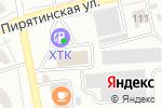 Схема проезда до компании ХТК в Абакане