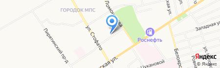 Сеть аптек №24 на карте Абакана