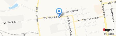 Проспект на карте Абакана