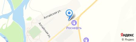 Шиномонтажная мастерская на ул. Ленина на карте Белого Яра
