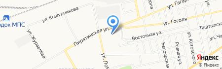 Двери России на карте Абакана
